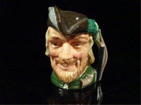 Royal Doulton Porcelain Toby Character Jug, Robin Hood