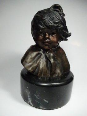 Glenna Goodacre Bronze Sculpture, Corn Girl #2, Limited