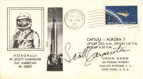 Mercury Seven: Selection Of Individually Signed