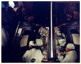 Gemini Vii: Signed Colour 10 X 8 Photograph By Both