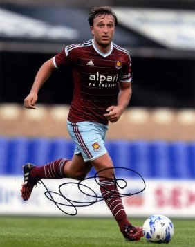 West Ham United: Selection Of Signed 8 X 10 Photographs