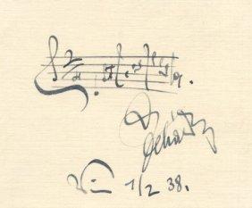 Lehar Franz: (1870-1948) Austrian Composer. A Fine