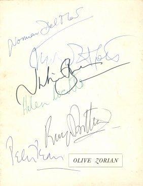 Britten Benjamin: (1913-1976) English Composer. A