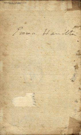Hamilton & Nelson: Hamilton Emma (1765-1815) Wife Of