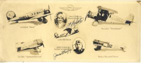 Aviation: A Printed 4to Brochure Entitled Aviation