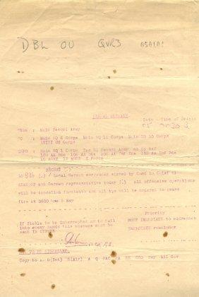World War Ii: A Rare World War Ii Document Issued By