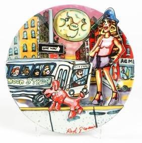 "Red Grooms (American, B. 1937) ""Moonstruck"", 1994"
