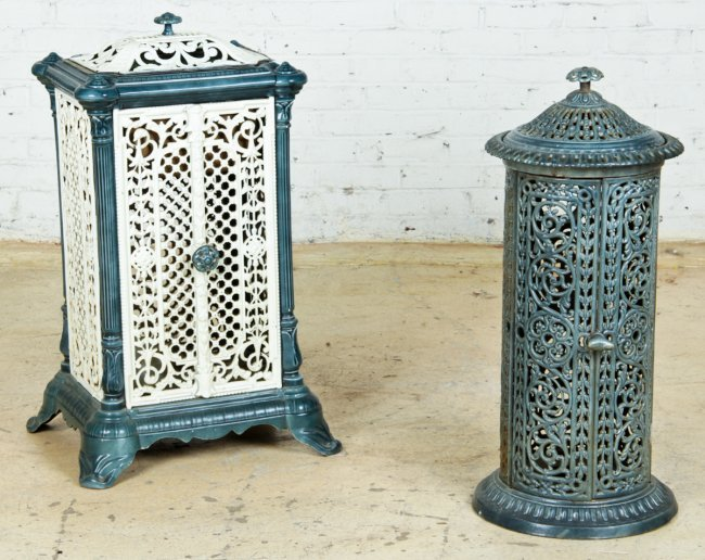 19th c enameled cast iron radiator covers lot 599 - Cast iron radiator covers ...
