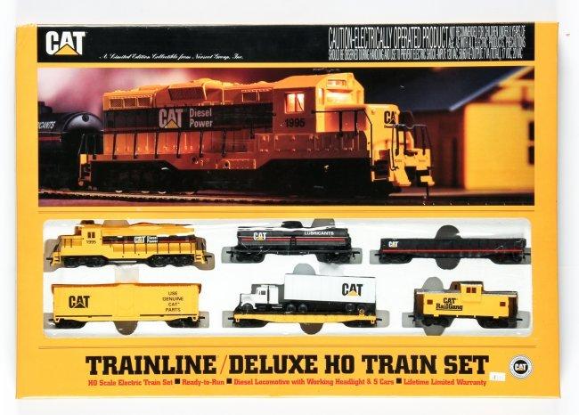 Model Railroad Mow Equipment  Caterpillar Train Set Ho