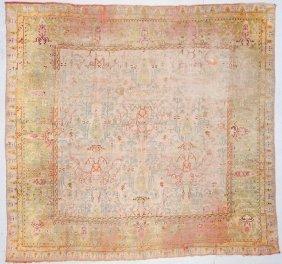 Antique Oushak Rug: 11\'5\