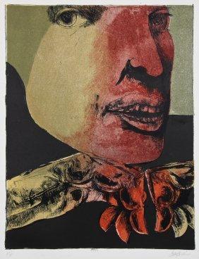 "Leonard Baskin (american, 1922-2000) ""medea"", 1982"