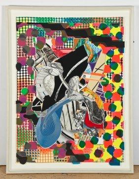 "Frank Stella (american, B. 1936) ""the Affidavit"""