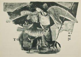 "Benton Spruance (american, 1904-1967) ""tobias & The"