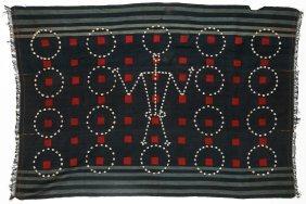 Naga Hand-woven Panel, Northeastern India, Early 20th C