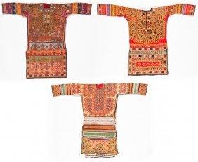 3 Old Sind Province Embroidered Wedding Dresses