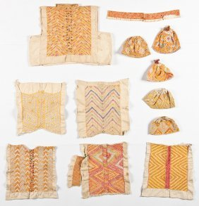 Collection Of 12 Ethnographic Textiles