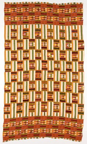 West African Kente Cloth