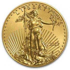 2012 1/2 Oz Gold American Eagle