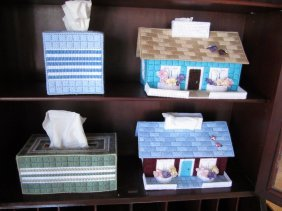 Hand-Made Tissue Box Covers