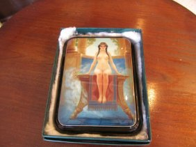 Russian Nude Lacquer Box