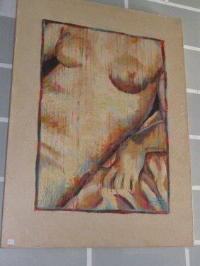 Carol Korpi McKinley Female Nude 30x40