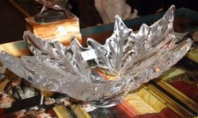 Lalique France Champs Elysees French Crystal Art Glass