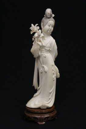 Early 20th Century Chinese Ivory Carving