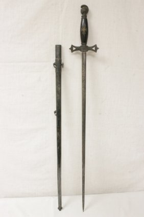 Made In Germany Antique Masonic Sword(?)