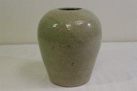 Antique Korean Celadon Jar
