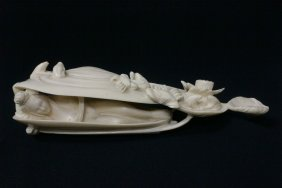 Chinese Vintage Ivory Carving