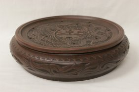Yixing Clay Covered Basin