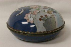 Beautiful Japanese Cloisonne Box