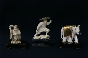 3 Ivory Carvings