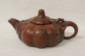 Chinese Vintage Yixing Clay Teapot