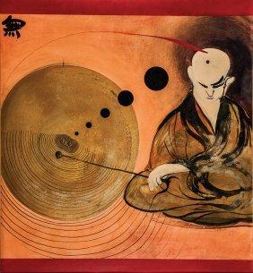 BRETT WHITELEY (1939�1992) Change, 1971 Oil On Boa