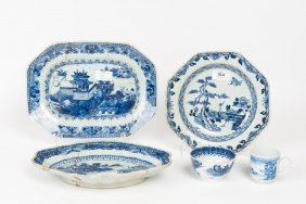 A Collection Of Chinese Blue And White Porcelain