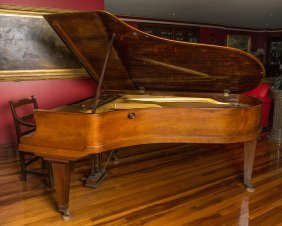 A Bluthner, Leipzig Rosewood Grand Piano 210 X 152 Cm,