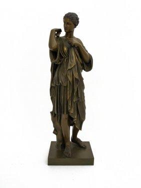 John Walz (american, 1844-?) A Bronze Figure Of A