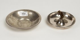 An American Silver Child€™s Bowl And A German