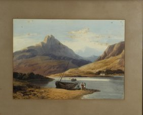 Glascot Bala Lake North Wales 1837