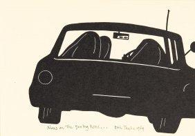 Eric Thake (1904-1982) A Bird On The Gate Post 1975eric