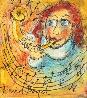 David Boyd (1924-2011) The Musician