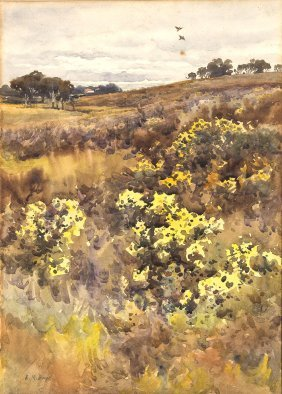 Emma Minnie Boyd (1858-1936) Towards The Homestead