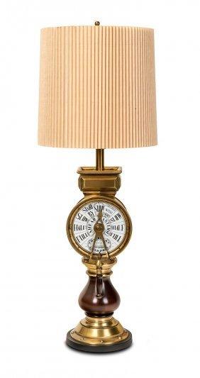 A Lamp Modelled As A Ship's Telegraph