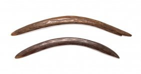 A Pair Of Boomerangs South Western Queensland
