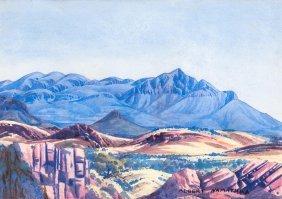 Albert Namatjira (1902-1959) Untitled (central