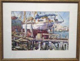 "Margaret W. Williams ,""Dry Dock"""