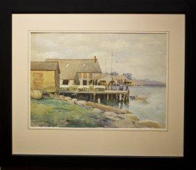 """John B. Foster , """" Gloucester Docks"""""""