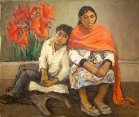 "Mildred Jones , "" Mother & Son - Guatemala"""