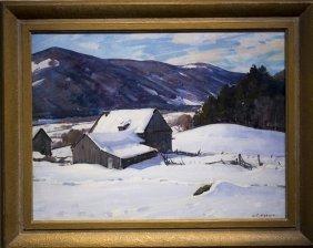 "Aldro T. Hibbard , "" Crisp Winter Day"""